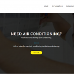 Air-conditioning installation and service