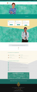 website design for global life designers